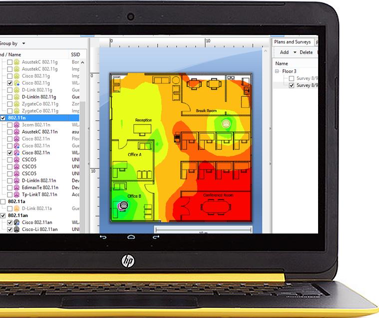 Tamograph Site Survey Software | Wifi Design & Planning