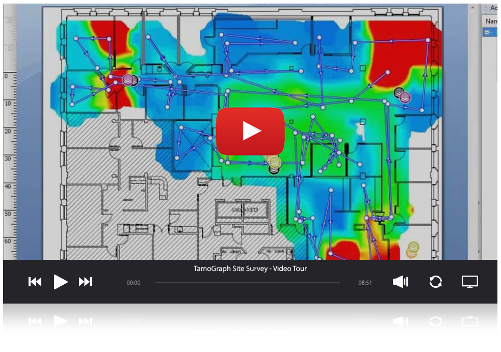 Tamograph Site Survey Software Wifi Design Planning Wifi - Wifi map software